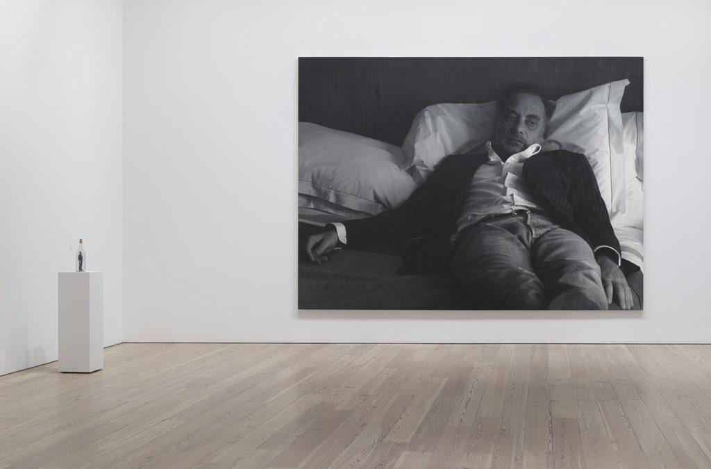 L'imperdibile esperienza di lasciarsi 'mettere a tappeto' da un artista come Rudolf Stingel